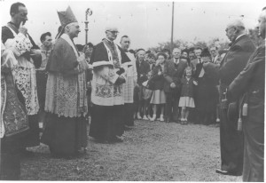 Inauguration patronage. Discours d'Adrien Lepers (1951)